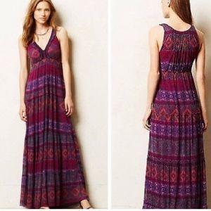 Anthropologie Weston maxi dress xl